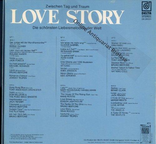 Bild 2: Love Story-Die schönsten Liebesmelodien der Welt, Bernd Clüver, Roland Kaiser, Jack Fender, Michael Schanze...