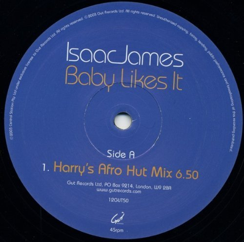 Bild 1: Isaac James, Baby likes it (Harry's Afro Hut/Orig)