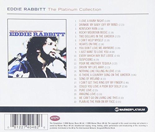Bild 2: Eddie Rabbitt, Platinum collection