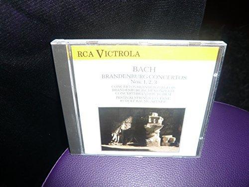 Bild 1: Bach, Brandenburg concertos Nos. 1, 2 , 3 (RCA) Festival Strings Lucerne, Rudolf Baumgartner
