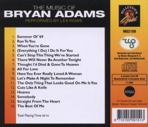Bild 2: Bryan Adams, Music of (by Lex Rowe)