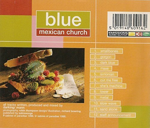 Bild 2: Blue, Mexican church (1996)