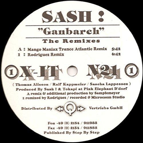 Фото 1: Sash!, Ganbareh Remixes (Mango Maniax Trance Atlantic/Rodriguez Remix)