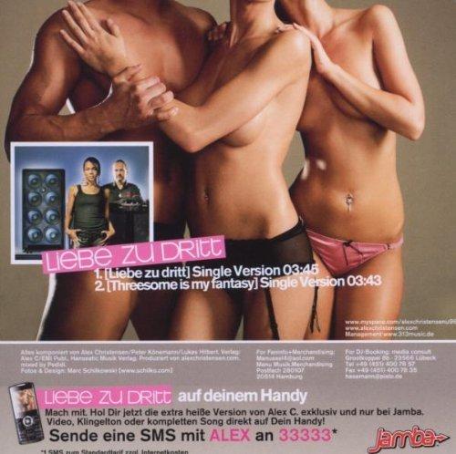 Bild 2: Alex C, Liebe zu dritt (2008; feat. Yass)