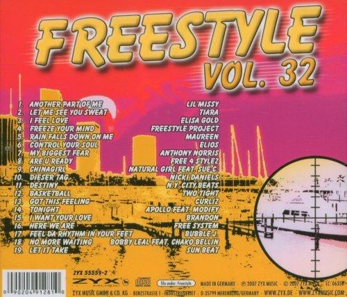 Bild 2: Freestyle 32 (2007), Lil'Missy, Tiara, Elisa Gold, Maureen, Sun Beat..