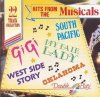 Hits from the Musicals (22 tracks), Gigi, My fair Lady, West Side Story..