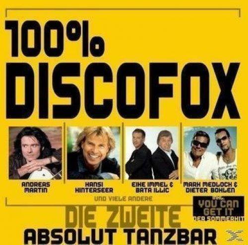 Bild 1: 100% Discofox 2-Absolut Tanzbar!, Mark Medlock, Steirerbluat, Achim Petry, Nini de Angelo, Hansi Hinterseer..