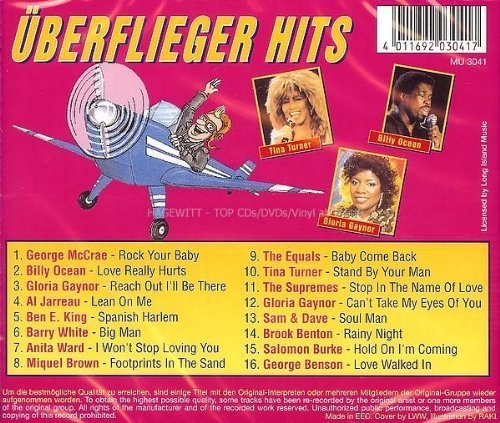 Bild 2: Überflieger Hits (16 tracks), George McCrae, Billy Ocean, Gloria Gaynor, Al Jarreau, Ben E. King, Barry White..