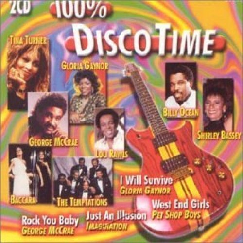 Bild 1: 100% Disco Time (2001), Imagination, Sniffin' the Tears, America, George McCrae, Curtis Mayfield..