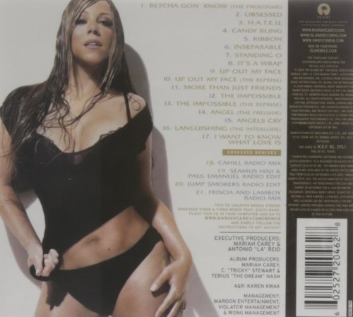 Bild 2: Mariah Carey, Memoirs of an imperfect angel (2009; 21 tracks)