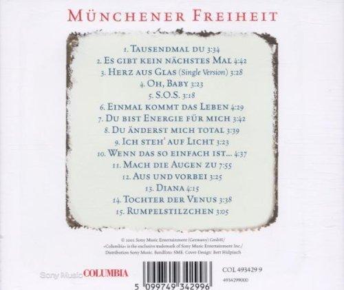 Bild 2: Münchener Freiheit, Tausendmal du (compilation, 1983-94)