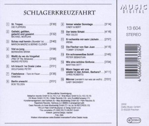 Bild 2: Schlagerkreuzfahrt (16 tracks), Flippers, Michael Morgan, Marion Maerz, Bernhard Brink..
