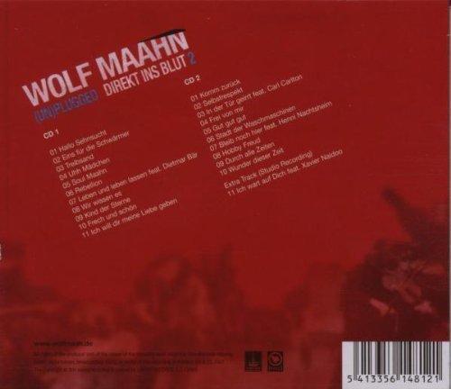 Bild 2: Wolf Maahn, (Un)plugged-Direkt ins Blut 2 (2007)