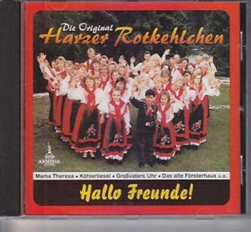 Bild 1: Harzer Rotkehlchen, Hallo Freunde!