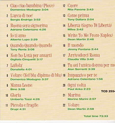 Bild 2: 100% Great Italian Songs, Domenico Modugno, Sergio Endrigo, Adriano Celentano, Alberto Lupo, Tony Renis..