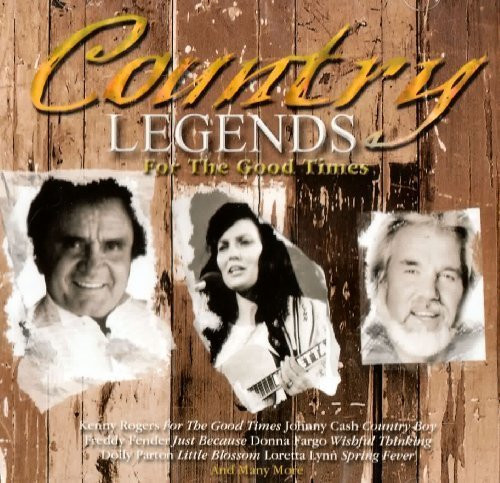 Фото 1: Country Legends for the Good Times, Kenny Rogers, Johnny Cash, Barbara FAirchild, Buck Owens, Willie Nelson..