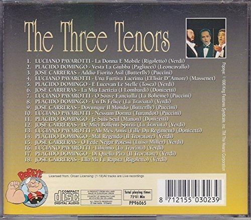 Bild 2: Three Tenors, Luciano Pavarotti, Jose Carreras, Placido Domingo (18 tracks)