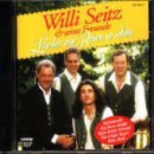 Bild 1: Willi Seitz, Lieder wie Rosen so schön (compilation, 12 tracks, 1994/96, & seine Freunde)