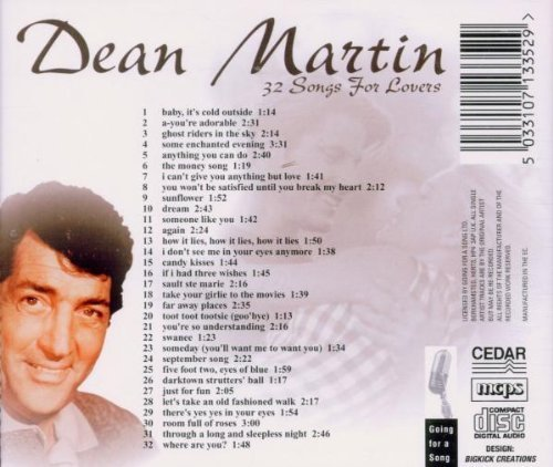 Bild 2: Dean Martin, 32 songs for lovers