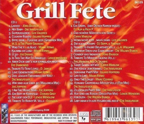 Bild 2: Grill Fete (36 tracks), Jörg Bausch, Inselfeger, Los Valores, Island Hoppers..