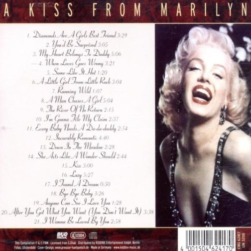 Bild 2: Marilyn Monroe, A kiss from Marilyn (compilation, 2002)