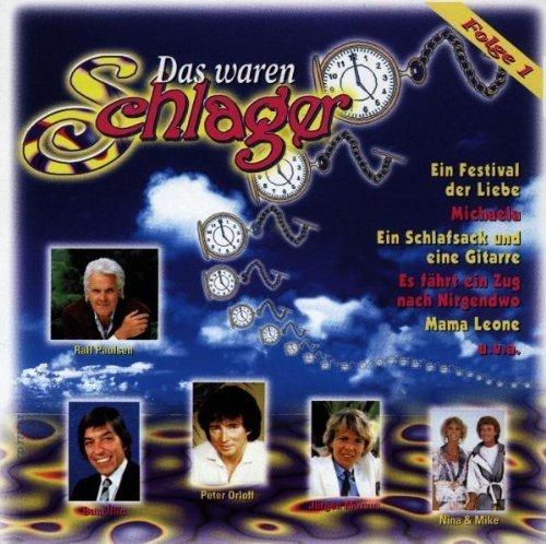 Bild 1: Das waren Schlager 1, Bata Illic, Renate & Werner Leismann, Randolph Rose, Ralf Paulsen..