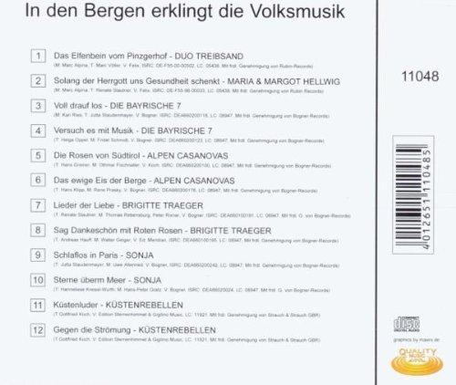Bild 2: In den Bergen erklingt die Volksmusik, Duo Treibsand, Maria & Margot Hellwig, Die Bayrische 7, Alpen Casanovas..