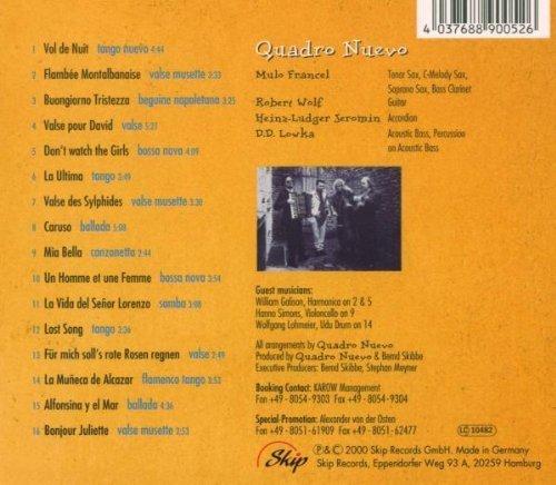 Bild 3: Quadro Nuevo, Buongiorno tristezza (2002)