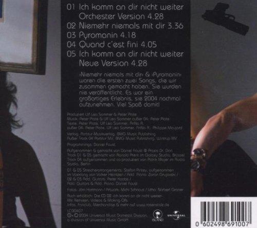 Bild 2: Rosenstolz, Ich komm an dir nicht weiter (Orch. Version, 5 tracks, digi)