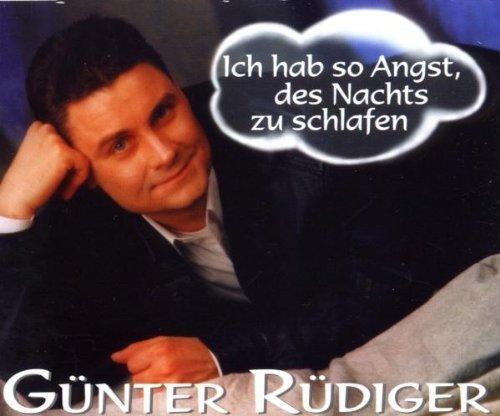 Bild 1: Günter Rüdiger, Ich hab so Angst, des Nachts zu schlafen (4 tracks)