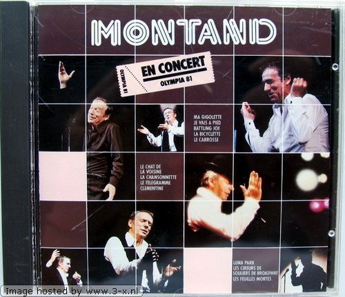 Фото 1: Yves Montand, En concert-Olympia '81 (12 tracks)