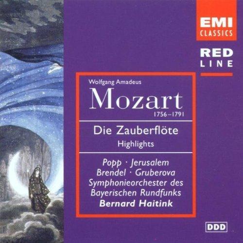 Bild 1: Mozart, Die Zauberflöte-Highlights (EMI, 1981/83) SO des Bay. Rundfunks/Haitink, Lucia Popp, Edita Gruberova..