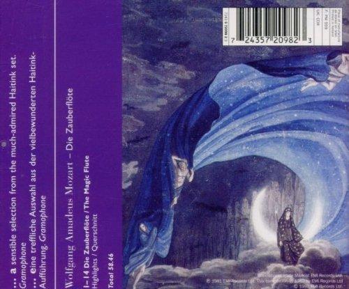 Bild 2: Mozart, Die Zauberflöte-Highlights (EMI, 1981/83) SO des Bay. Rundfunks/Haitink, Lucia Popp, Edita Gruberova..