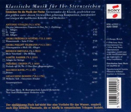 Bild 2: Klassische Musik im Zeichen der Sterne (Sony), Fische Vivaldi, Chopin, Rossini, Ravel..