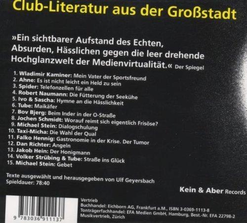 Bild 2: Asphaltpoeten (Club-Literatur, Live), Wladimir Kaminer, Ahne, Spider, Robert Naumann, Ivo & Sascha..
