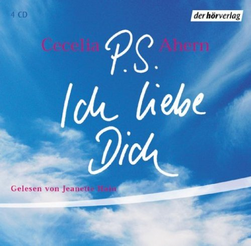 Bild 1: Cecelia Ahern, P.S. Ich liebe Dich (Leserin: Jeanette Hain)