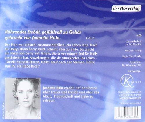 Bild 3: Cecelia Ahern, P.S. Ich liebe Dich (Leserin: Jeanette Hain)