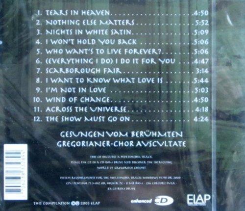 Bild 2: Avscvltate, Gregorian chants-Liebeshymnen