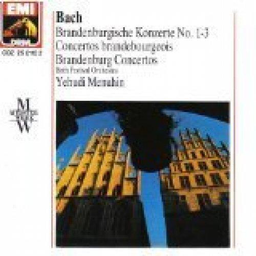 Bild 1: Bach, Brandenburgische Konzerte Nr. 1-3 (EMI, 1959/89) Bath Festival Orch./Menuhin