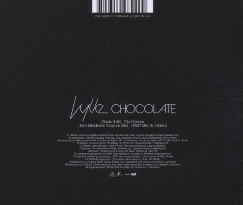 Bild 2: Kylie Minogue, Chocolate (4 tracks, + video)