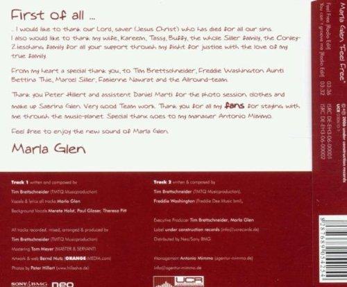 Bild 2: Marla Glen, Feel free (2006; 2 tracks)