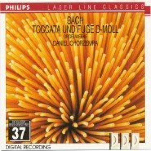 Bild 1: Bach, Toccata & Fuge d-moll BWV 565 (Philips) (Daniel Chorzempa)