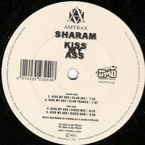 Bild 1: Sharam, Kiss my ass (1995, LC)