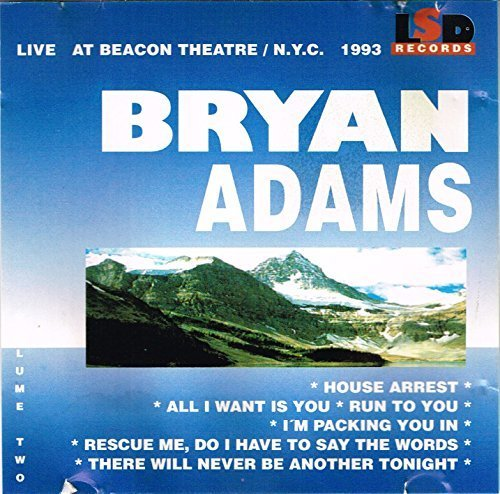 Bild 1: Bryan Adams, Vol. 2 (live, at Beacon Theatre/N.Y.C., 1993)