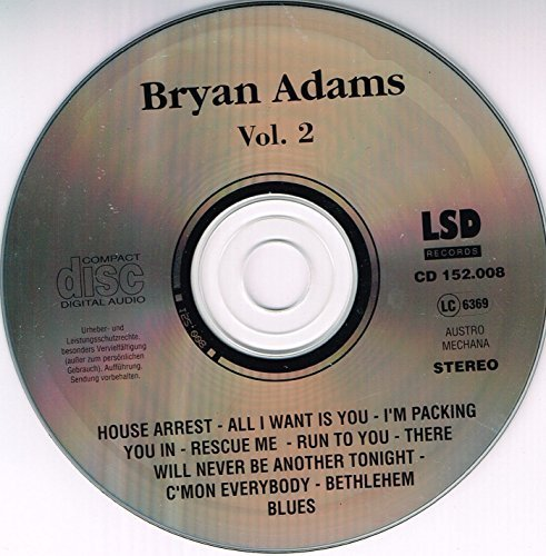Bild 3: Bryan Adams, Vol. 2 (live, at Beacon Theatre/N.Y.C., 1993)
