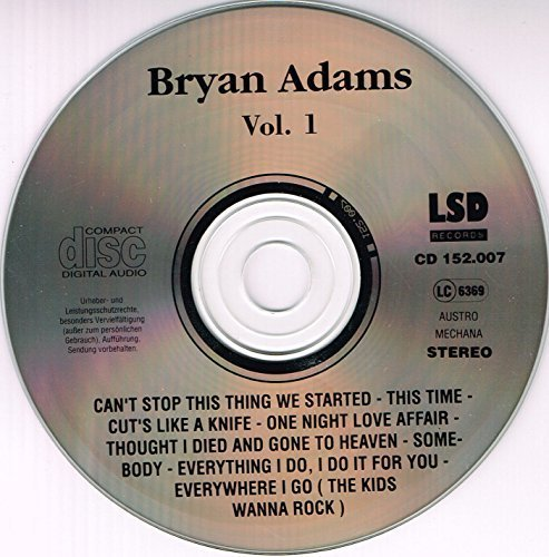Bild 3: Bryan Adams, Vol. 1 (live, at Beacon Theatre/N.Y.C., 1993)