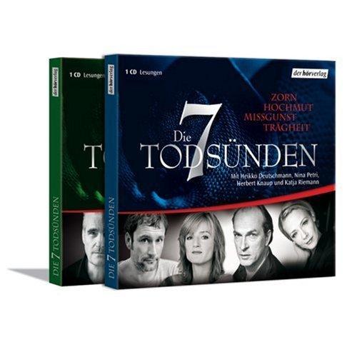 Bild 1: Die 7 Todsünden, Zorn, Hochmut, Missgunst, Trägheit (mit Heikko Deutschmann, Nina Petri, Herbert Knaup & Katja Riemann)
