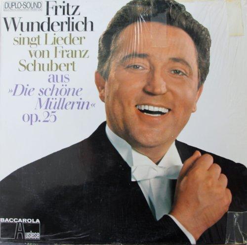 Bild 1: Fritz Wunderlich, Singt Lieder von Franz Schubert