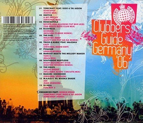 Bild 2: Clubber's Guide Germany '06, Tomcraft, Switch, Rosenstolz, B.U.R.N.E.D, Egg..
