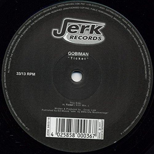 Bild 1: Gobiman, Ticket